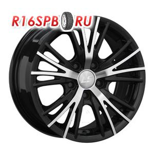 Литой диск LS Wheels BY701 6x14 4*98 ET 35 BKF
