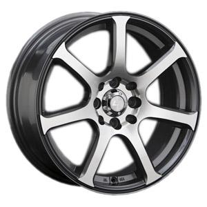 Литой диск LS Wheels BY804 7x16 4*100/114.3 ET 40