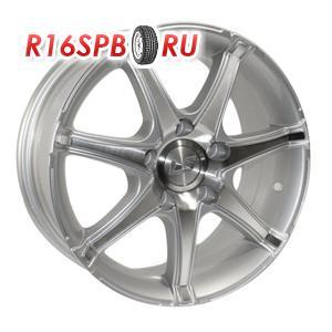 Литой диск LS Wheels LS104 6.5x15 4*100 ET 42 SF