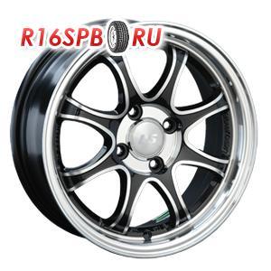 Литой диск LS Wheels LS144 6x15 4*100 ET 45 BKF