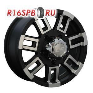 Литой диск LS Wheels LS158 7x16 5*139.7 ET 5 BKF