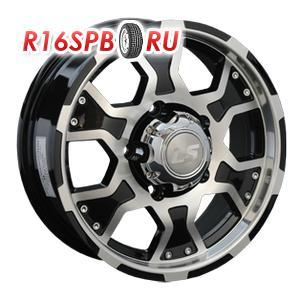 Литой диск LS Wheels LS198 6.5x15 5*139.7 ET 40 BKF