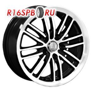 Литой диск LS Wheels LS278 6x15 4*100 ET 0 BKF