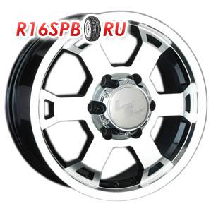 Литой диск LS Wheels LS326 8x17 6*139.7 ET 38 BKF