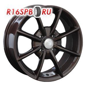 Литой диск LS Wheels NG217 6x14 4*98 ET 35 Brown