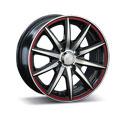 LS Wheels LS221 7x16 5*114.3 ET 40 dia 73.1 BKFRL