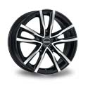 MAK Milano 7x17 5*108 ET 50 dia 72 Black Polished