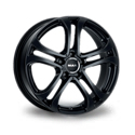 MAK Stuttgart 7.5x17 5*112 ET 45 dia 66.6 Black Polished