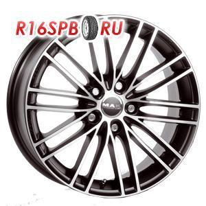 Литой диск MAK Rapide 7x16 5*114.3 ET 40 Black