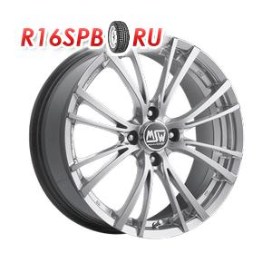Литой диск MSW 20/4 7x15 4*108 ET 25 Silver Full Poliched