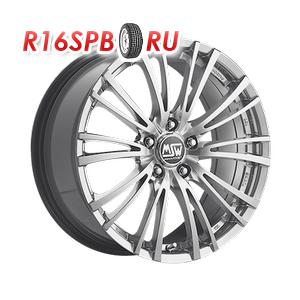 Литой диск MSW 20/5 8x17 5*120 ET 40 Silver Full Poliched