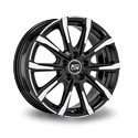 MSW 79 7.5x18 5*114.3 ET 49.5 dia 67.1 Black Full Polished