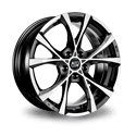 MSW Cross Over 7x16 5*112 ET 35 dia 73.1 Black Full Polished