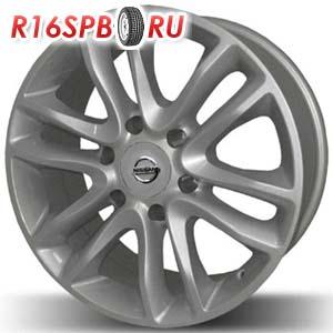 Литой диск Replica Nissan 017 8x18 6*139.7 ET 8
