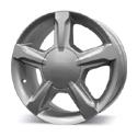 Replica Nissan 203 (584) (NS34) 7x17 5*114.3 ET 45 dia 66.1 алмаз чёрный