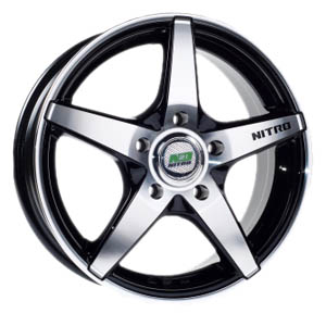 Литой диск Nitro N2O Y3119 6x15 4*100 ET 45