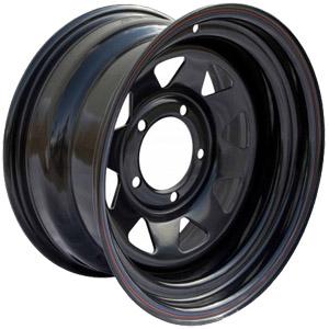 Штампованный диск Off-Road-Wheels Нива 7x15 5*139.7 ET 25