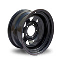 Off-Road-Wheels Toyota Nissan 7x16 6*139.7 ET 30 dia 110 Black