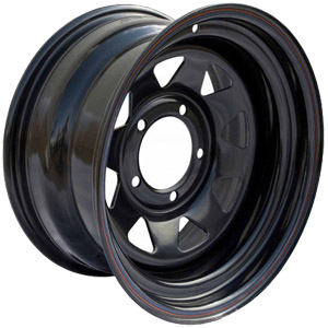Штампованный диск Off-Road-Wheels УАЗ 10x16 5*139.7 ET -44