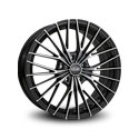 OZ Racing Ego 8.5x19 5*108 ET 45 dia 75 Matt Black Diamond Cut