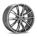 OZ Racing Envy 8x18 5*100 ET 35 dia 68 Matt Silver Tech