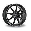 OZ Racing Veloce GT 7.5x17 5*114.3 ET 45 dia 75 Gloss Black