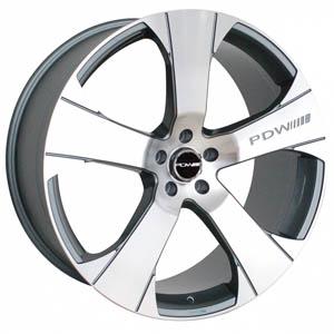 Литой диск PDW Wheels Jeneva 10x22 5*112 ET 45
