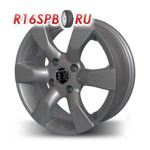 Литой диск Replica Peugeot 034