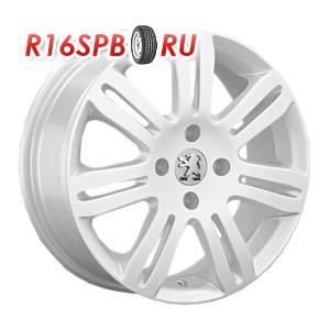 Литой диск Replica Peugeot PG12 6.5x15 4*108 ET 27 W