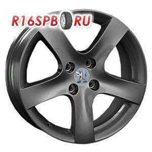 Литой диск Replica Peugeot PG17 6x15 4*108 ET 23 GM