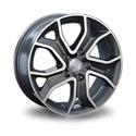 Replica Peugeot PG60 7x17 5*108 ET 46 dia 65.1 BK/FP
