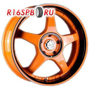 Литой диск Racing Wheels H-115 7x17 5*112 ET 40 OG-OJBK/P