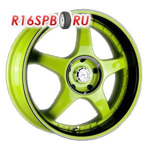 Литой диск Racing Wheels H-115 7x16 4*108 ET 14 SY-OJBK/P