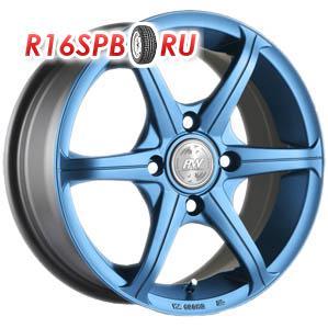 Литой диск Racing Wheels H-116 6x14 4*100/114.3 ET 35 BL/HP