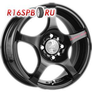 Литой диск Racing Wheels H-125 6.5x15 4*98 ET 40 Black