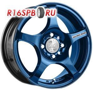 Литой диск Racing Wheels H-125 6x14 4*98 ET 38 BL/HP