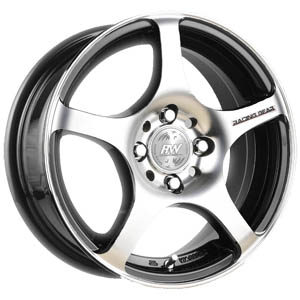 Литой диск Racing Wheels H-125 7x17 5*114.3 ET 35