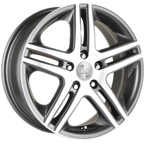Литой диск Racing Wheels H-214 7x17 5*114.3 ET 55