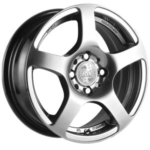 Литой диск Racing Wheels H-218