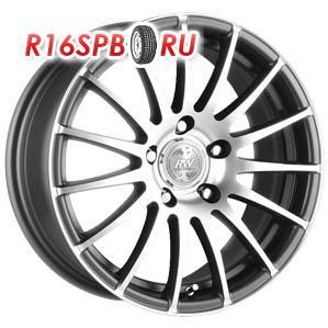 Литой диск Racing Wheels H-290 6.5x15 4*100 ET 40 DDN/FP
