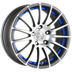 Литой диск Racing Wheels H-290 7x17 4*108 ET 25