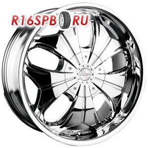 Литой диск Racing Wheels H-377 8.5x20 5*130 ET 45 Chrome