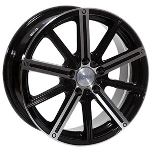 Литой диск Racing Wheels H-385 7x17 4*100 ET 45