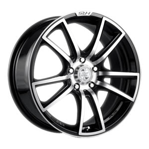Литой диск Racing Wheels H-411 6.5x15 5*100 ET 40