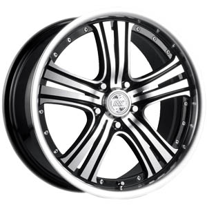 Литой диск Racing Wheels H-434 7x17 5*108 ET 45