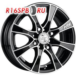 Литой диск Racing Wheels H-476 6x14 4*114.3 ET 38 BK/FP