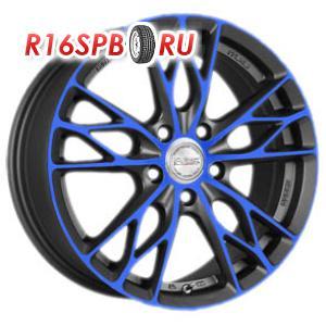 Литой диск Racing Wheels H-487 7x17 5*114.3 ET 45 BK-OBL/FP