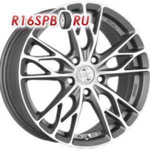 Литой диск Racing Wheels H-487 7x16 5*105 ET 40 DDN/FP