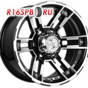 Литой диск Racing Wheels H-525 8x16 5*139.7 ET 0 BK/FP
