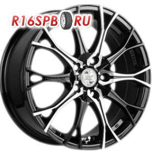 Литой диск Racing Wheels H-530 7x16 5*105 ET 40 BK/FP